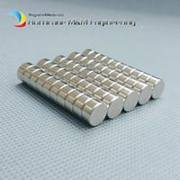 1 paket N35 NdFeB Mıknatıs Disk Çapı 8x4mm yaklaşık 0.31 '' Güçlü Neodimyum Mıknatıslar Diametrically Nadir Toprak Mıknatıslar Kalıcı Mıknatıslar
