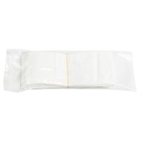 Wholesale 500pcs/lot clear+white plastic Zipper Retail package bag For Data cable car charger Cell Phone Accessories Packing bag