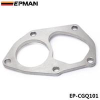 EPMAN PRESTATIES Turbo Uitlaatpijp Flens voor Mitsubishi Lancer EVO 4 ~ 9 Dump Outlet Pipe EP-CGQ101