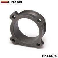 """EPMAN 3 """"4 boulons 4"""" Adaptateur de bande 3 """"V Bride d'échappement turbo T3 GT3582 GT35 Adaptateur de bride moulé EP-CGQ80"""