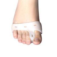 Силиконовый гель для ног пальцы ног Уход ног сепаратор пальца вальгусной защитник бурсит большого пальца стопы регулятор вальгусной деформации гвардии Бесплатная доставка
