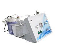 3 in 1 hydrodermabrasion macchina buccia del getto punta di diamante microdermoabrasione diamante microdermoabrasione ossigeno per il salone spa