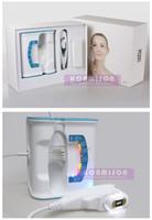 Hifu Máquina Facial RF Máquina de belleza de alta intensidad enfocada Ultrasonido Hifu elevación para el rejuvenecimiento de la piel Eliminación de arrugas portátil uso en el hogar