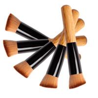 Pincéis de maquiagem Make up Brushes Avançada Lã de Nylon Ash Escova Lidar Com Cabeça Oblíqua Blush Frete Grátis