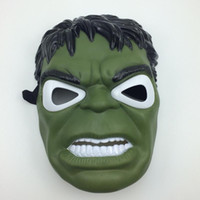 Led Light Hulk Green Gigante máscara de dibujos animados de cara completa Carnaval Halloween Party Mask 10 unids / lote envío gratis