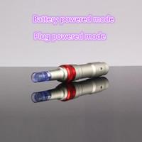 50 adet iğne kartuş Dr. Kalem Derma Deri Kalem Oto Microneedle Sistemi Ayarlanabilir İğne Uzunlukları 0.25mm-2.5mm Elektrik Derma Damga Kalem