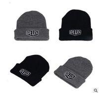 5d48a4c6e8f Wholesale Brand New! Trucker Beanie hat Men Women Bboy Girls Sports Winter  6 Hiphop Cap Black