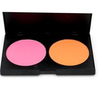 Pro 2 Renkler Allık Makyaj Palatte Allık Pudra Zarif Doğal Allık Pudra 4 adet / paket 15915-2 #