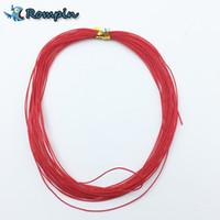 la ligne de pêche rouge Rompin 7M pour crochet d'explosion lié crochet dureté diy 0.5mm 0.7mm ligne de pêche tressée anti- enroulement
