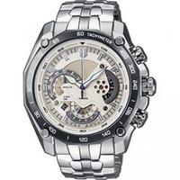 Neue Art und Weise hohe Qualität Mens Quarz-Chronographen Armbanduhr Male Stailess Stahl watch + box CA01