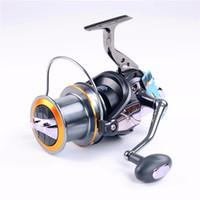 AFL 8000 9000 10000 11000 12000--11BB 4.7: 1 Катушка для серфинга Удлиненная катушка Цельнометаллическая спиннинговая рыболовная катушка Морские катушки