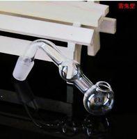 Prodotti in vetro accessori bong pentola a sfera doppia curva, accessori all'ingrosso narghilè, spedizione gratuita, grande meglio