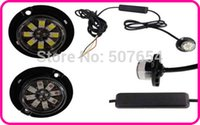 8W LED LED Hideaway Lights, Luces de la parrilla Strobe, Luces de Advertencia, Luz de Emergencia, Impermeable