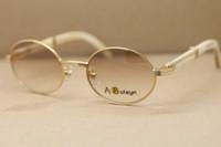 Горячий круглый 2822546 белый рог буйвола солнцезащитные очки мужчины знаменитые натуральные солнцезащитные очки рамка на открытом воздухе вождения очки C украшения размер:53