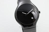 Бесплатная доставка полный высокое качество ограниченные мужские часы черные керамические круглые TICHY высокое качество дата керамический груша циферблат мужские модные мужские часы