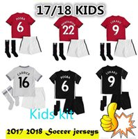 2017 2018 kids RASHFORD home red children Soccer Jersey 17 1...