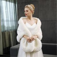 Роскошный страусиное перо свадебный платок белый красный мех обертывания брак плечами пальто невесты зима свадьба Болеро куртка плащ LD05059