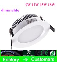 2015 NEW arrive Led Recessed Downlights 9W 12W 15W 18W 2. 5&q...