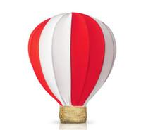 Festa diy decoração de tela de seda lanterna colorida festa de casamento de aniversário decoração balão de fogo 1 # sobre 25 * 30 cm balão de ar quente FD09