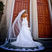 Gorgeous Romantic Cathedral Veil Long One Layer Soft Tulle C...