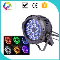 Ip65 Waterproof 18x15w Rgbwauv 6into1 Led stage Par can ligh...