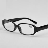 Gafas de lectura plásticas baratas Bisagra de resorte Gafas de lectura de marco negro largo-sighter negro + 1.0 + 1.50 + 2.0 + 2.5 + 3.0 +3.5 +4.0 30 Unids / lote
