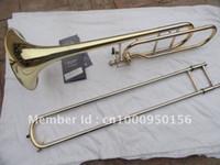 باخ 42BO كبار Sandhi تينور الترومبون الواردات 95 سبيكة النحاس سطح الذهب ب ب الترومبون آلات موسيقية