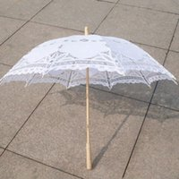 Free shipping New Vintage Lace Umbrella Handmade Cotton Embr...