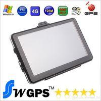 7 pulgadas de navegación GPS FM DDR128MB 800 * 480 gps coche MTK MS2531 800MHZ mapas gratis para Europa América del Norte EE. UU. Canadá Australia