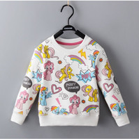 Fleece Unicorn Pullovers for Girls Magical Unicorn Prints Sw...