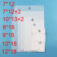 White Insulation Frosted CPE Pleastic Retail Bags OPP Packin...