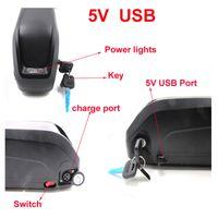 Электрический велосипед батареи 48 В 1000 Вт электрический велосипед батареи 48 В 15ah литий-ионный аккумулятор с USB-портом для Smaung ячейки