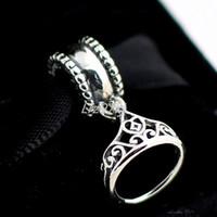 Высокое качество 100% стерлингового серебра 925 Belle тиара мотаться шарик подходит Европейский Pandora ювелирные изделия браслеты ожерелья подвески