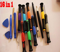 wholesale 16 in 1 Opening Pry phone Repair Tools Disassembly...