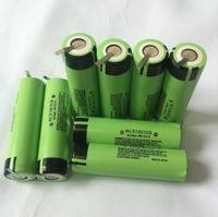 Литий-ион 18650 Цилиндрическая батарея 3,7 В 3400 мАч - W / Tabs Spot Worded 18650 Батарея высокая емкость