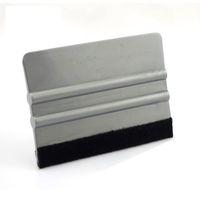 2020 новая приезжает машина оттенок серого Bump карты 10 * 7.5cm серебряный Solf чувствовал швабру для автомобиля оберточной MO-88F