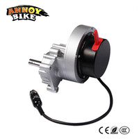 Pieza única izquierda o derecha 24v 200w Motor eléctrico de la silla de ruedas DC Brush 30Nm Gear Motor con embrague manual