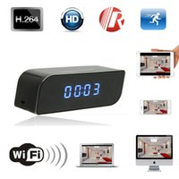 Full HD 1080P Mini Wireless Wifi IP Camera Clock Camera Moti...