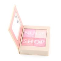 Blush Blush Palette 24 pz 4 colori Blusher Blush Bronzer Blinking e Graceful Powder Guancia Stain Facile da indossare Net 5g