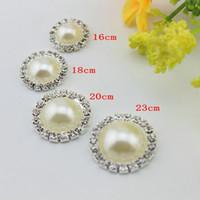 Nuovo fai da te trapano fibbia perla di cristallo piatto decorazioni strass perla bottoni 14/16/18 / 20mm scegliere carino manuale lavoro manuale nave libera