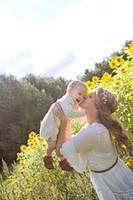 20PC Mama Me Gold Silber Olivenblätter Blatt Stirnband Embossing Haarband Mode Boho-Baby-Frauen-Kopf-Verpackungs Blume Haarkranz FD6581