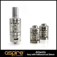 Nueva llegada Aspire Atlantis Manguera vaciada 2ML Reemplazo de bobina atomizador Tanque Tubo de acero inoxidable para cigarrillos electrónicos atomizador