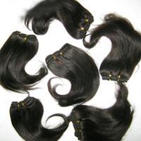 Горячая красота девушка настоящие человеческие волосы индийский уток плетение дешевая хорошая цена 1.2kg / лот оптом сделка 1 неделя !!