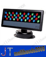 36 * 3W LED RGB 투광 조명 워시 방수 LED DMX 512 무대 조명 LED 투광 조명 세탁기 빛 배경 램프 홍수 MYY123