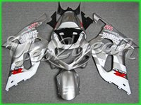 Latest MOTUL silver full fairing for SUZUKI GSXR 600 750 01-...