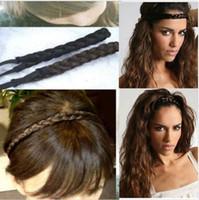 Neu kommen stilvolle Haar-Verpackungs-Kopf-umsponnene Perücke-elastisches / Strecken-Band freies Schiff an