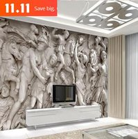 11.11 half off Custom photo wallpaper 3D Continental mural reliefs backdrop simple fashion large mural 3d wall murals wallpaper painting