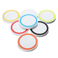 New Arrival Thin Circle Colorful Universal Wireless Charging...