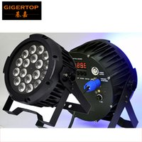 LED rentable Par Light 5IN1 RGBWA 18x15W Tyanshine Leds ámbar puro No impermeable LED Par Light IP20 Certificado CE