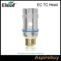 В наличии 100% оригинал Eleaf Eleaf EC TC распылитель головка Ni200 никелевая катушка совместим с Ijust 2 / Melo распылитель с контролем температуры